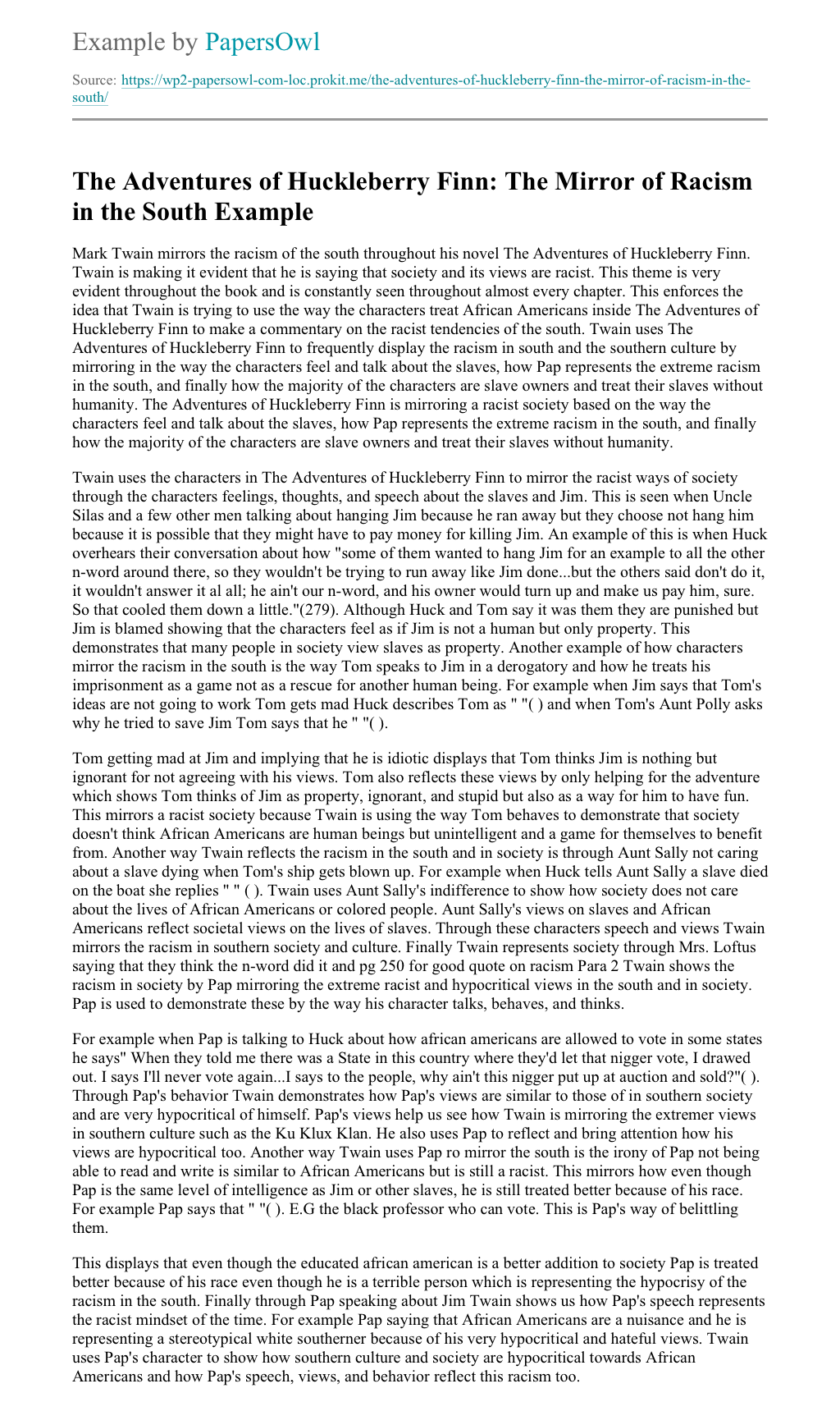 Briar rose essay topics